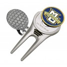 Marquette Golden Eagles Divot Tool Hat Clip with Golf Ball Marker (Set of 2)
