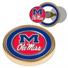 Mississippi (Ole Miss) Rebels Challenge Coin with Ball Markers (Set of 2)