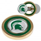 Michigan State Spartans Challenge Coin with Ball Markers (Set of 2)