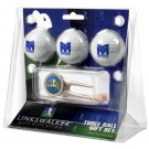 Morehead State Eagles 3 Golf Ball Gift Pack with Cap Tool