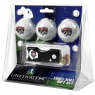 New Mexico Lobos 3 Golf Ball Gift Pack with Spring Action Tool