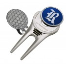 Rice Owls Divot Tool Hat Clip with Golf Ball Marker (Set of 2)
