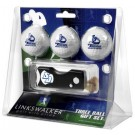 San Diego Toreros 3 Golf Ball Gift Pack with Spring Action Tool