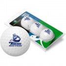 San Diego Toreros Top Flite XL Golf Balls 3 Ball Sleeve (Set of 3)