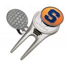 Syracuse Orangemen Divot Tool Hat Clip with Golf Ball Marker (Set of 2)