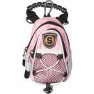 """Syracuse Orange (Orangemen) Pink 8"""" x 9"""" Mini Day Pack (Set of 2)"""