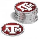 Texas A & M Aggies Golf Ball Marker (12 Pack)