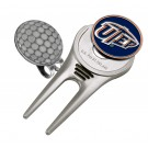 UTEP Texas (El Paso) Miners Divot Tool Hat Clip with Golf Ball Marker (Set of 2)