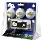 Toledo Rockets 3 Golf Ball Gift Pack with Spring Action Tool