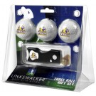 Tennessee Tech Golden Eagles 3 Golf Ball Gift Pack with Spring Action Tool