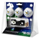West Virginia Mountaineers 3 Golf Ball Gift Pack with Spring Action Tool