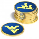 West Virginia Mountaineers Golf Ball Marker (12 Pack)