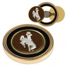 Wyoming Cowboys Challenge Coin with Ball Markers (Set of 2)
