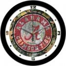 "Alabama Crimson Tide 12"" Camo Wall Clock"
