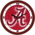 "Alabama Crimson Tide 12"" Dimension Wall Clock"