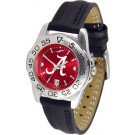 Alabama Crimson Tide Sport AnoChrome Ladies Watch with Leather Band