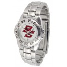 Boston College Eagles Gameday Sport Ladies' Watch with a Metal Band