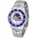 Boise State Broncos Competitor Watch with a Metal Band