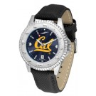 California (UC Berkeley) Golden Bears Competitor AnoChrome Men's Watch with Nylon/Leather Band