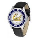 California (UC Berkeley) Golden Bears Competitor Men's Watch with Nylon / Leather Band