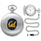 California (UC Berkeley) Golden Bears Silver Pocket Watch