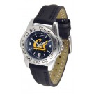 California (UC Berkeley) Golden Bears Sport AnoChrome Ladies Watch with Leather Band