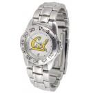 California (UC Berkeley) Golden Bears Ladies Sport Watch with Stainless Steel Band