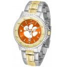 Clemson Tigers Competitor AnoChrome Two Tone Watch