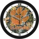 "Clemson Tigers 12"" Camo Wall Clock"