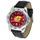 Central Michigan Chippewas Sport AnoChrome Men's Watch with Leather Band
