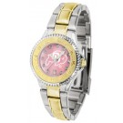 Colorado Buffaloes Competitor Ladies Watch with Mother of Pearl Dial and Two-Tone Band
