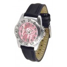 Colorado Buffaloes Ladies Sport Watch with Leather Band and Mother of Pearl Dial