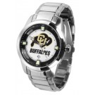 Colorado Buffaloes Titan Steel Watch