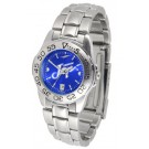 Creighton Blue Jays Sport AnoChrome Ladies Watch with Steel Band