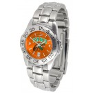 Florida A & M Rattlers Sport AnoChrome Ladies Watch with Steel Band