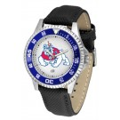 Fresno State Bulldogs Competitor Men's Watch by Suntime