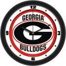 "Georgia Bulldogs Traditional 12"" Wall Clock"