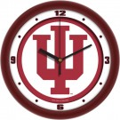 "Indiana Hoosiers Traditional 12"" Wall Clock"