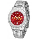 Iowa State Cyclones Competitor AnoChrome Men's Watch with Steel Band