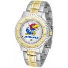 Kansas Jayhawks Competitor Two Tone Watch
