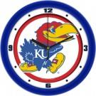 "Kansas Jayhawks Traditional 12"" Wall Clock"