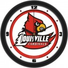 "Louisville Cardinals Traditional 12"" Wall Clock"