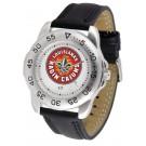 Louisiana (Lafayette) Ragin' Cajuns Men's Sport Watch with Leather Band