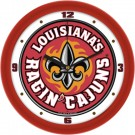"Louisiana (Lafayette) Ragin' Cajuns Traditional 12"" Wall Clock"