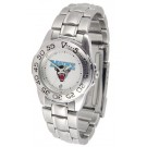 Maine Black Bears Gameday Sport Ladies' Watch with a Metal Band