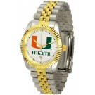 "Miami Hurricanes ""The Executive"" Men's Watch"