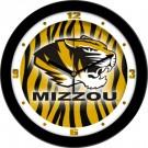 """Missouri Tigers 12"""" Dimension Wall Clock"""