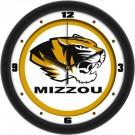 """Missouri Tigers Traditional 12"""" Wall Clock"""