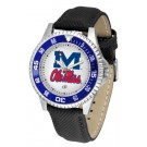 Mississippi (Ole Miss) Rebels Competitor Men's Watch by Suntime