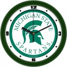 """Michigan State Spartans Traditional 12"""" Wall Clock"""